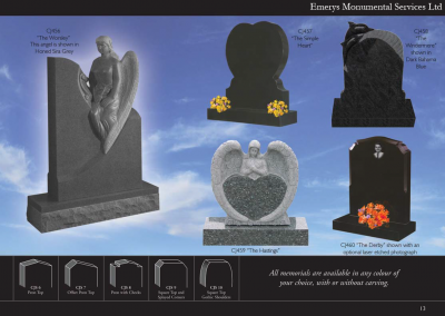 Emerys Monumental Services Ltd  Edition 5-13