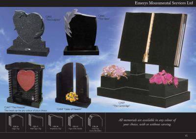 Emerys Monumental Services Ltd Edition 5-15