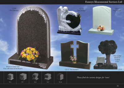 Emerys Monumental Services Ltd  Edition 5-25
