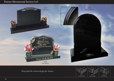 Emerys Monumental Services Ltd Edition 5-28