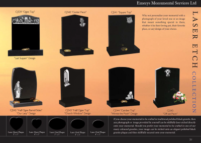 Emerys Monumental Services Ltd  Edition 5-31